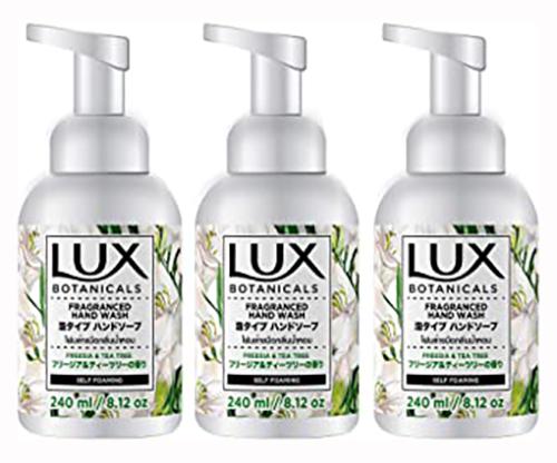 大幅値下げランキング LUX ラックス 泡ハンドソープ 240mL×3個セット 3個セット 今ダケ送料無料 フリージアティーツリーの香り