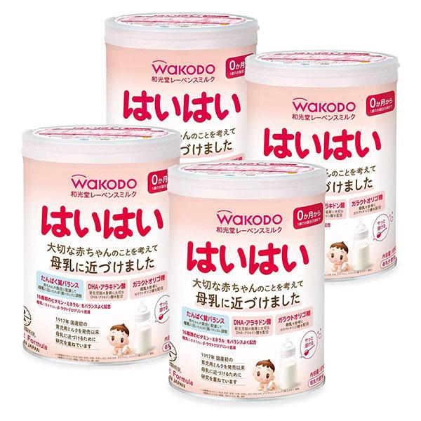 和光堂 レーベンスミルク はいはい 最新アイテム 粉ミルク 810g×4缶 ランキングTOP10 0ヶ月から1歳頃 賞味期限2022.09