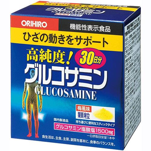 オリヒロ グルコサミン顆粒 2g×30本 賞味期限2023.04 限定品 外箱潰れあり 高級な
