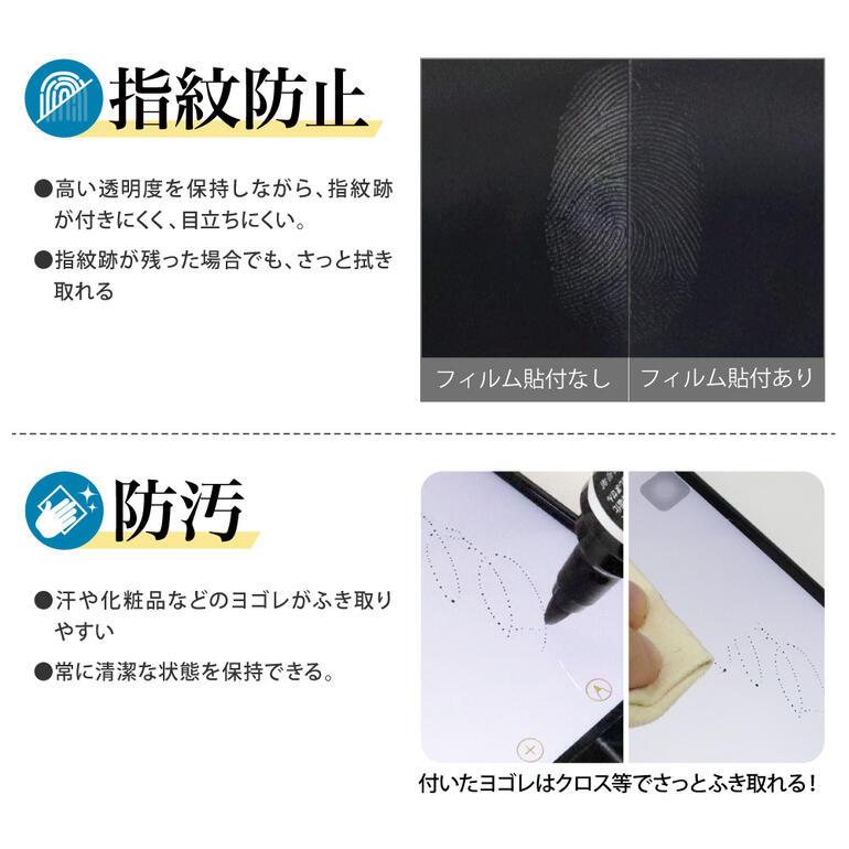 iPhone12背面カバーフィルム光沢背面保護フィルム指紋防止防汚気泡消失ASDECアスデックBF-IPN23