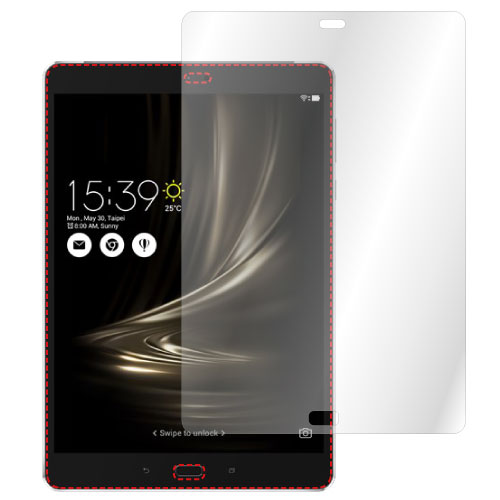 【ZenPad3S10(Z500M)用】ノングレア液晶保護フィルム3防指紋反射防止ギラつき防止気泡消失タブレットASDECアスデック【ポイント5倍】