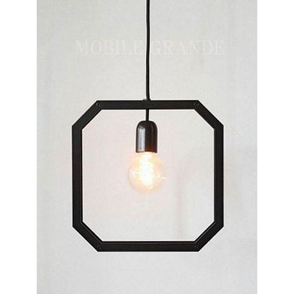 ペンダントライト FRAME LIGHT タイプL(電球別) LED対応  0003-li-fll