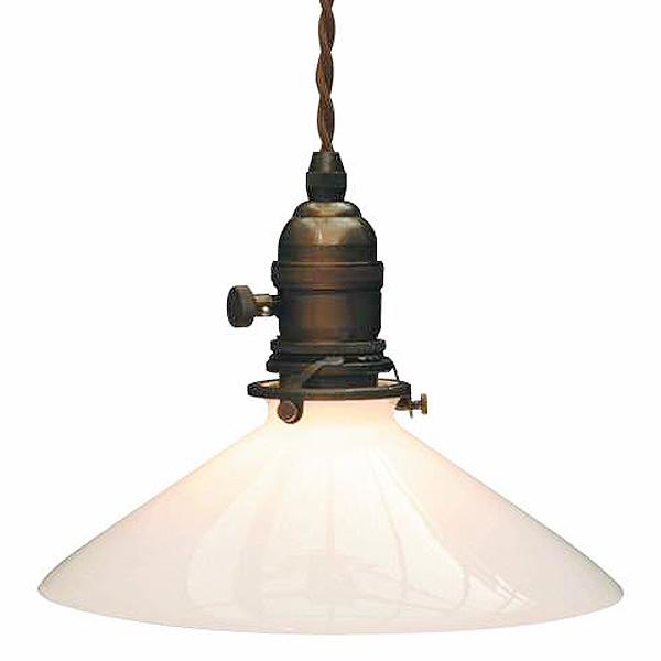 ペンダントライトセット 灯具(fc-tg15a)+ガラスシェード(fc-p013) 電球別売  147l-fc15ap013-set