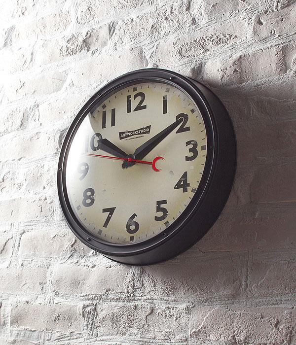 【1000円OFFクーポン配布中】ウォールクロック Engineered-clock(エンジニアードクロック)0400-zk-TK-2072