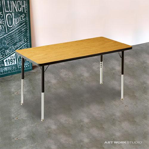 ダイニングテーブル【VIRCO】4000 Table (S)(4000テーブル Sサイズ)0400-dt-TR-4227
