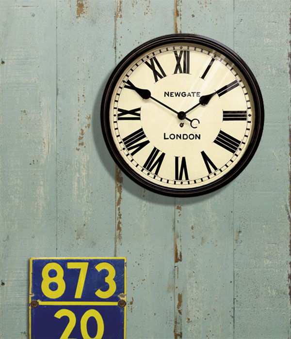 【送料無料】時計 掛け時計 壁掛け時計 ブランド カフェスタイル インテリア クロック シンプル おしゃれ プレゼント ギフト お祝 贈り物 新築 改築【NEW GATE】Battersby wall clock (バタースビーウォールクロック)0400-zk-TR-4257