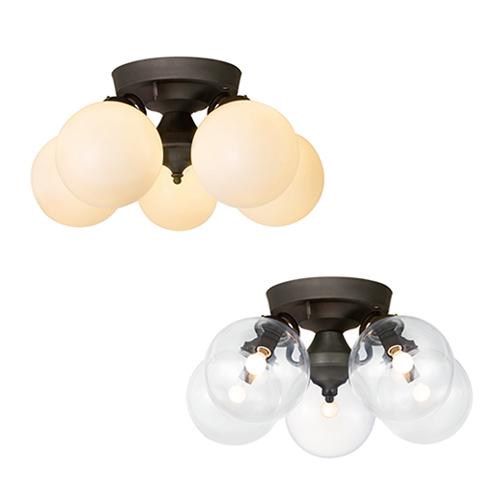 【送料無料】リモコン付き 電球色 Tango-remote ceiling lamp 5 (タンゴリモートシーリングランプ5 ) 【5灯タイプ 白熱球】0400-li-AW-0396V