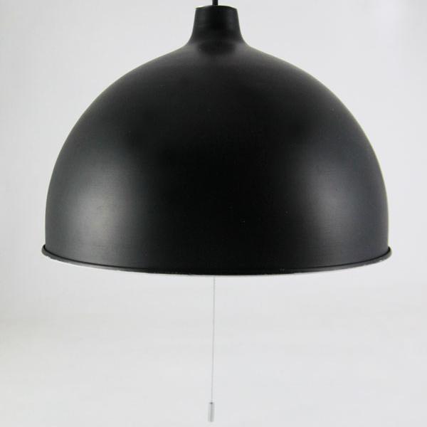 【シェード、灯具セット】アイアンシェード3灯 ブラック [電球別売 ※LED電球対応]  0052-li-hs2634