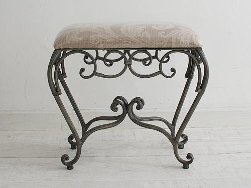スツール 椅子 イス いす チェア チェアー アイアン アイアン家具 おしゃれ デザイン 北欧 インテリア カフェ プレゼント 贈り物 新築アイアンスツール ファブリック0251-ch-FM-336-Y
