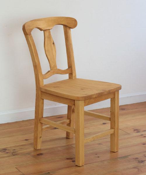 ダイニングチェア椅子 イス いす チェア チェアー木製 無垢 LOHAS 北欧 ナチュラル カントリー パイン材 新生活 インテリア 家具 LOHASパイン家具 ダイニングチェア※本州玄関前渡し送料無料0152-ch-A003