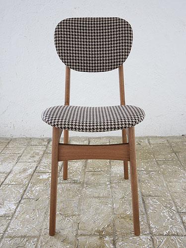 椅子 イス いす チェア チェアー 革 レザーチェア 座面 デザイン 北欧 ナチュラル カントリー パイン材 新生活 インテリア 家具 完成チェア Pin Chair びょう打ち 千鳥格子0666-ch-Pin-HTD