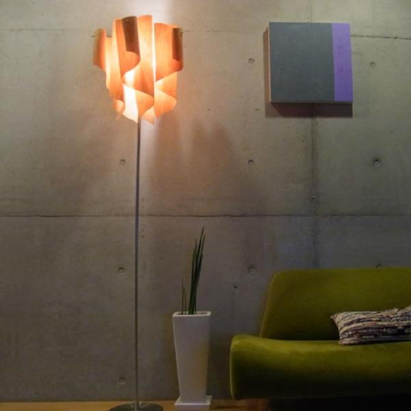 フロアスタンド 照明 照明器具 Auro-wood floor lamp アウロ ウッド フロアランプ ディクラッセ  0510-li-lf4200wo