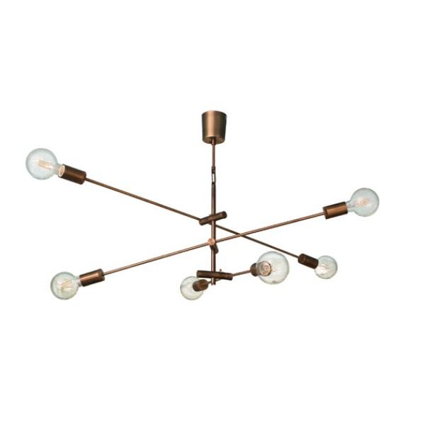ペンダントライト 照明 照明器具 LED Cardinal pendant lamp カーディナル ペンダントランプ アンティークブラウン ディクラッセ  0510-li-lp3125br