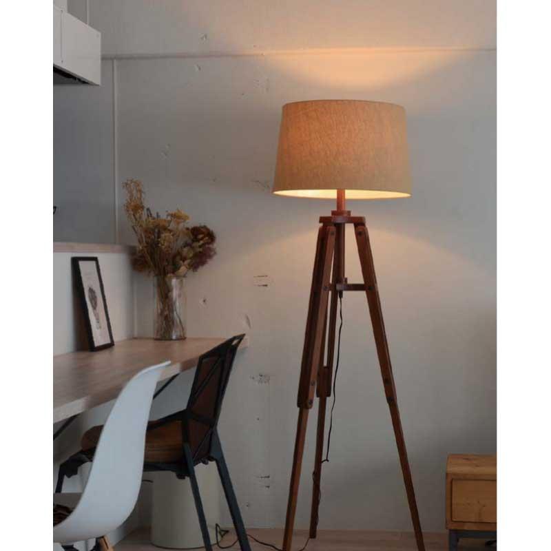 フロアライト LED 対応 間接照明おしゃれ 北欧 天井照明 照明器具 寝室 499l-lc10771 送料無料激安祭 ブラウン 在宅 Maripod シーリング ライトテレワーク おしゃれ照明 35%OFF