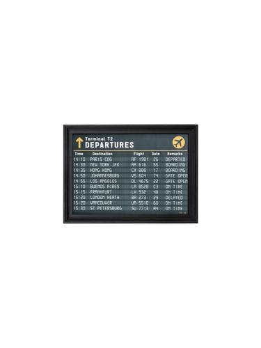ガラスフレーム 額縁壁掛け 天然木 インテリア フレーム アンティーク ハンドメイド レトロ おしゃれ プレゼント ギフト お祝 贈り物 新築アートフレーム カフェスタイル Time Table S A3サイズ0400-zk-tr-4197-tt
