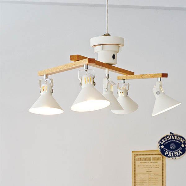Zeppelin [ ツェベリン ] ホワイトミニクリプトン球付き シーリングライト 天井照明 【 インターフォルム 】  0252-li-lt-9510