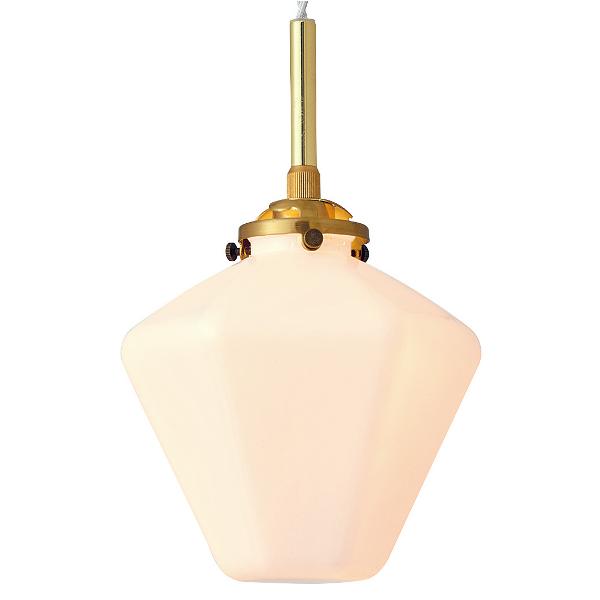 1灯式ペンダントライト Philia[フィリア] E17/40W相当 小形LED電球(電球色)付 ホワイト色  252l-lt-3806wh
