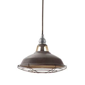 照明器具 ペンダントライト ランプシェード ガラス 電球 ペンダントライト ジェイルペンダント Sサイズ ビンテージメタル 電球付属(灯具セット)LED電球対応 0400-li-AW-0350V-VME