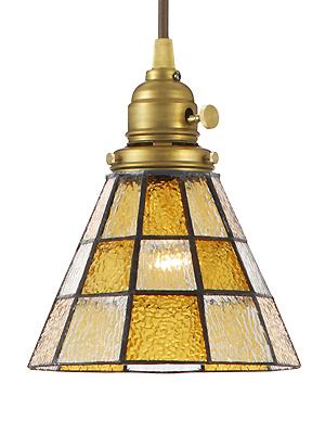 照明器具 ペンダントライト モダンリビング ランプシェード シェード アンティーク レトロ プレゼント 贈り物 新築ステンドグラスペンダント チェッカー(電球付属)(灯具セット)LED電球対応 ランプシェード 洋風0400-li-AW-0371V