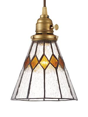 照明器具 天井照明 ペンダントライト シーリング ライト ランプシェード シェード アンティーク レトロ プレゼント ギフト お祝 贈り物 ステンドグラスペンダント ブレイク(電球付属)(灯具セット) LED電球対応0400-li-AW-0388V
