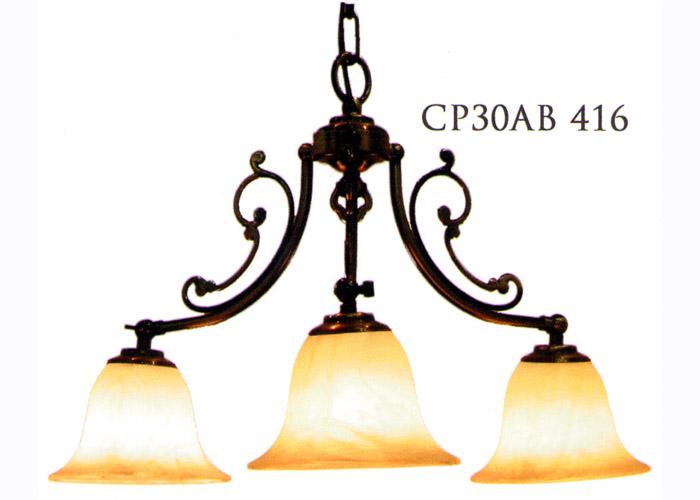 【送料無料】照明器具 天井照明 ペンダントライト シーリングライト ランプシェード シェード アンティーク おしゃれ レトロ LED対応 プレゼント クラシックスタイルシャンデリア(60Wx3灯=180W相当)※電球別売 LED電球対応0147-li-CP30AB-416