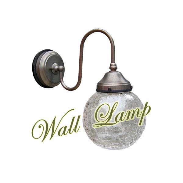 ウォールランプ 照明器具 壁掛け照明 壁付け ウォールライト ブラケットライト シェード アンティーク レトロ おしゃれ プレゼント ギフトクステリアランプ(室外用) ガラスシェード 313 E17※電球別売0147-li-FC-WO220A-313