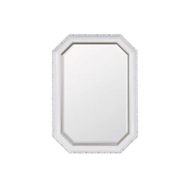 ウォールミラー ホワイト  0129-mr-2844b-pw