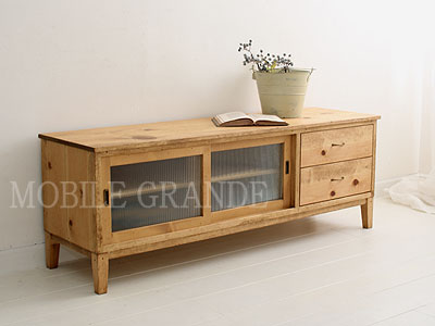 Tv Cabinet W1400 Board Rustic Once Pine Material Order Furniture Series Glaslough Sideboard Snack Units Make Stand Rack