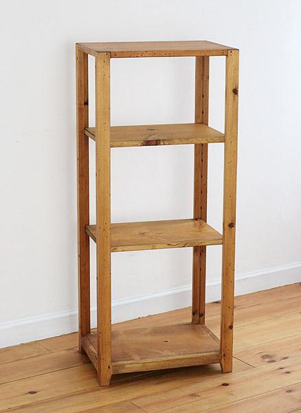 ラック シェルフ 飾り棚 本棚 棚 ブックケース ディスプレイラック 収納 ボード 無垢 木製 カントリー 無垢 北欧 木製 カフェ ナチュラル オープンシェルフ Photo Shelf N45 (M) Photo Shelf0220-bs-RT-116-45M