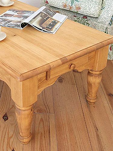 リビング ローテーブル ソファテーブル テーブル 木製 カフェ モダン 無垢 LOHAS 北欧 ナチュラル カントリー パイン材 新生活 LOHASパイン家具 ローテーブル 900mm※本州玄関前渡し送料無料0152-lt-A308-900