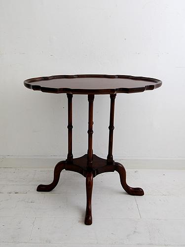 サイドテーブル コンソールテーブル コンソール テーブル 木製 アンティーク 無垢 北欧 カフェ ナチュラル モダン パイン材 模様替えコンソールテーブル 波楕円型 オークカラー0035-lt-LAMP-T01