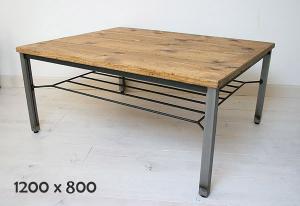 リビング ローテーブル ソファテーブル テーブル ナチュラル 木製 アイアン iron カントリー 無垢 北欧 カフェ ナチュラル モダン ローテーブルラスティックアイアン ローテーブルMesh 1200×8000220-lt-RI-401-120