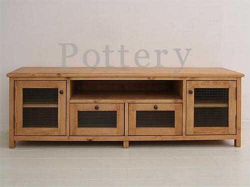 Mobilegrande | Rakuten Global Market: Sideboard Snack TV Units Make TV  Board TV Stand TV Rack Lowboard Pine Furniture Pottery Pottery TV Board  1500 Mm ...