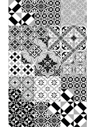 Beija Flor キッチンマット ビニールラグマットE15 70×1800002-rg-00e15-r