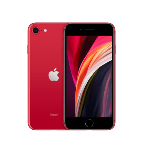 【新品未開封品】SIMフリー iphoneSE(第二世代)128GB RED MXD22J/A 赤ロム永久保証