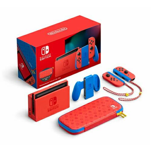 Nintendo Switch マリオレッド×ブルー セット【新品】