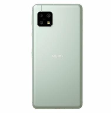 【新品同様】AQUOS sense5G A004SH Olive Silver softbank SIM ロック解除済み