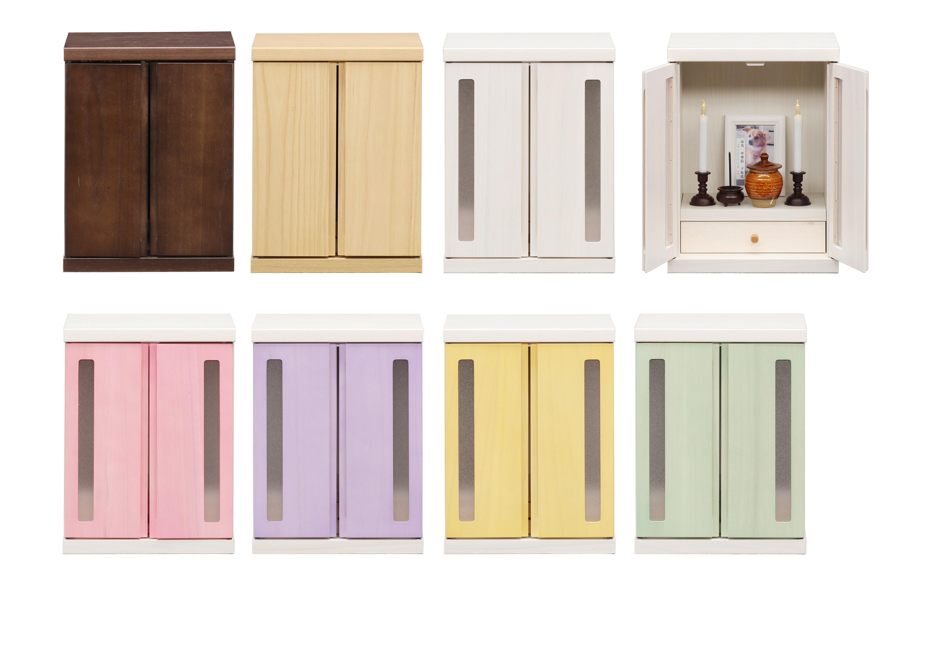 本店 いろんな思い出と想いをここに 今 話題のペット用家具 仏壇タンス 正規販売店 7色対応 いぬ 思い出に ねこ メモリアルボックス