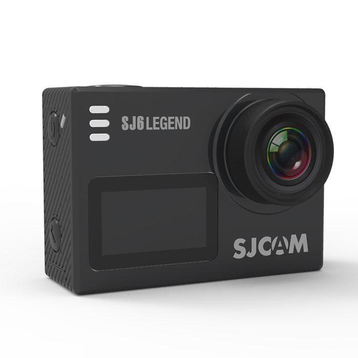SJCAM SJ6 LEGEND 正規品 ウェアラブル アクション カメラ バッテリー1個追加 4K 動画 広角 166度 Wifi 手ブレ防止 タッチ操作 防水ケース 対応 ◇DEL-SJCAM-SJ6