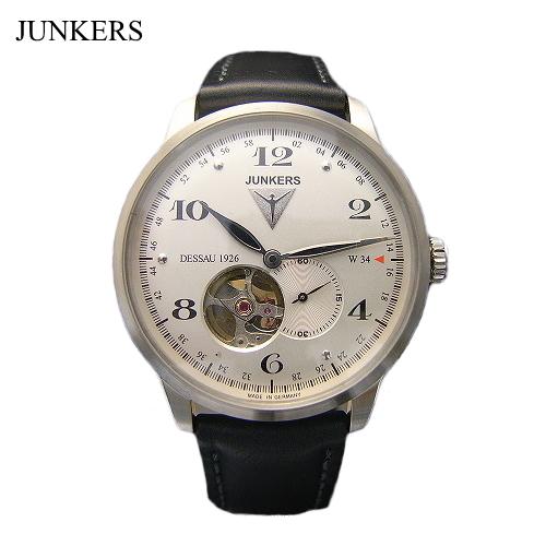 ユンカース JUNKERS 自動巻き腕時計 Flatline Dessau1926 W34/自動巻き/6360-4at-203512【ユンカース 時計 正規品】※クーポン利用不可
