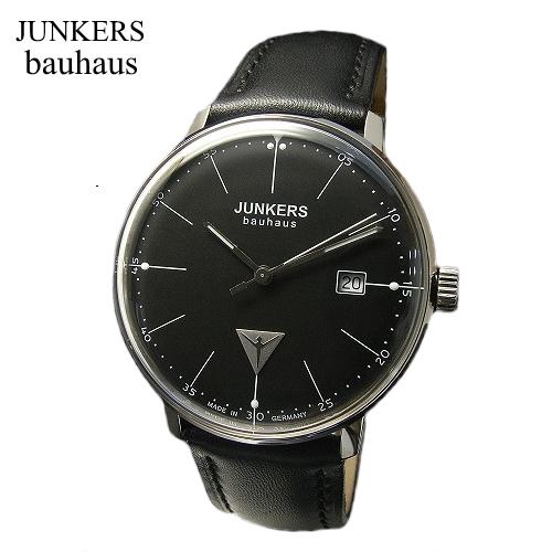 ユンカース JUNKERS バウハウス Bauhaus 腕時計 クォーツ/6070-2qz-203540【ユンカース 時計 正規品】※クーポン利用不可