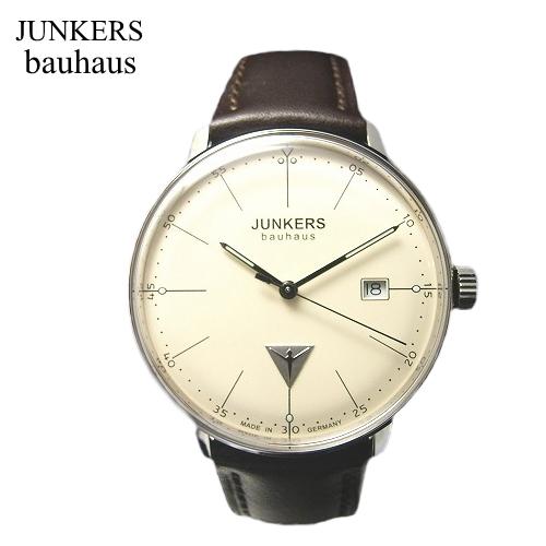 ユンカース JUNKERS バウハウス Bauhaus 腕時計 /クォーツ/6070-5qz【ユンカース 時計 正規品】※クーポン利用不可