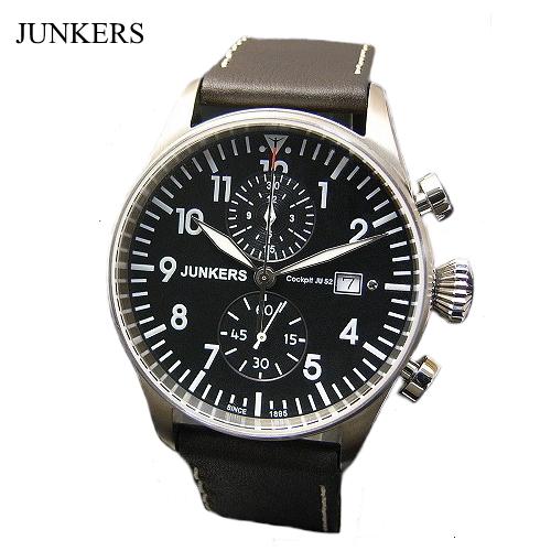 8642c36625 ユンカース JUNKERS 腕時計 腕時計 クロノグラフ/クロノグラフ JUNKERS・クォーツ 時計/6178-2qz【ユンカース 時計 正規 ...