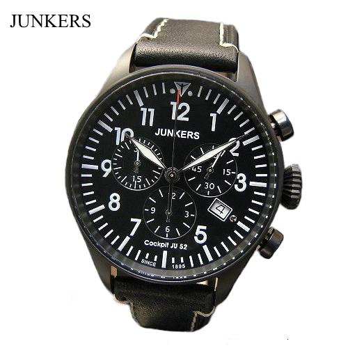 ユンカース JUNKERS 腕時計 クロノグラフ /クロノグラフ・クォーツ/6182-2qz【ユンカース 時計 正規品】※クーポン利用不可