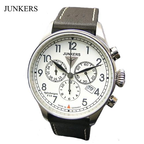 ユンカース JUNKERS 腕時計 クロノグラフ /クロノグラフ・クォーツ/6186-5qz【ユンカース 時計 正規品】※クーポン利用不可