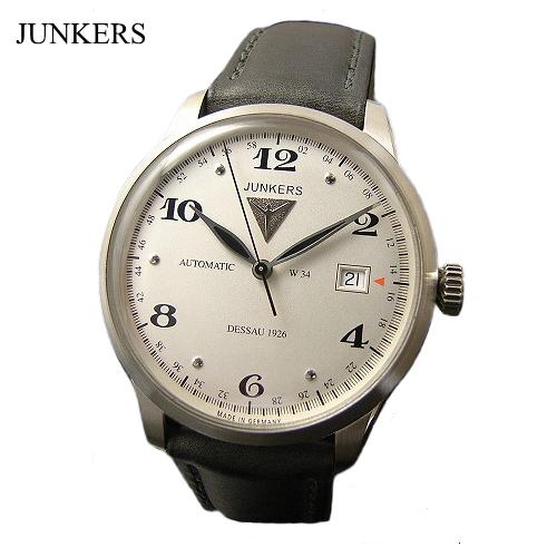 ユンカース JUNKERS 腕時計 /オートマチック/6350-4at【ユンカース 時計 正規品】※クーポン利用不可