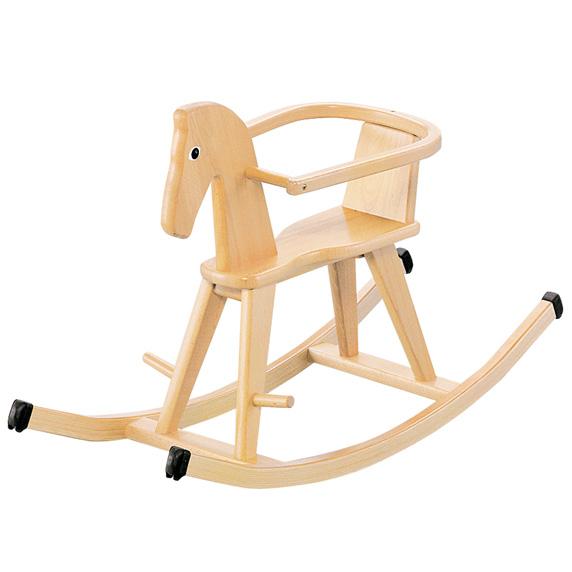 BorneLund(ボーネルンド ).ゴイター 木馬 ロッキングホース 木のおもちゃ お誕生日 1歳:男 お誕生日 1歳:女【Y】【kd】
