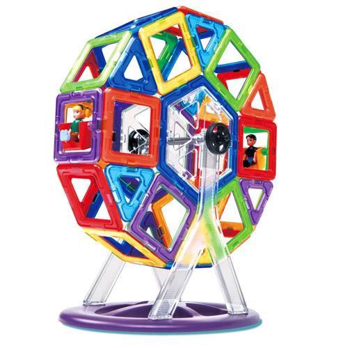 【マグフォーマー 日本正規品】ボーネルンド マグ・フォーマー カーニバルセット 46 ブロック  誕生日 3歳 知育玩具 認知症 予防【kd】