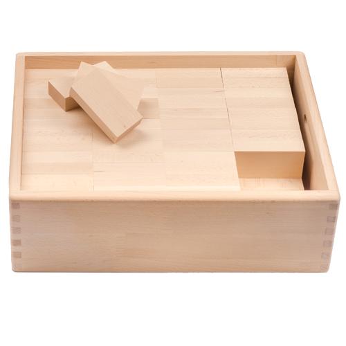 ブラザージョルダン社 木箱入りレンガブロックセット 木のおもちゃ 【P】【kd】