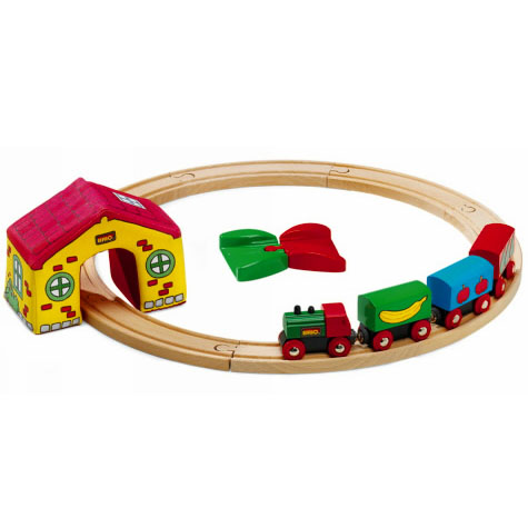 kinoomocha comoc wooden toys brio brio wooden rail my first brio sets 1 year old 1 year old. Black Bedroom Furniture Sets. Home Design Ideas